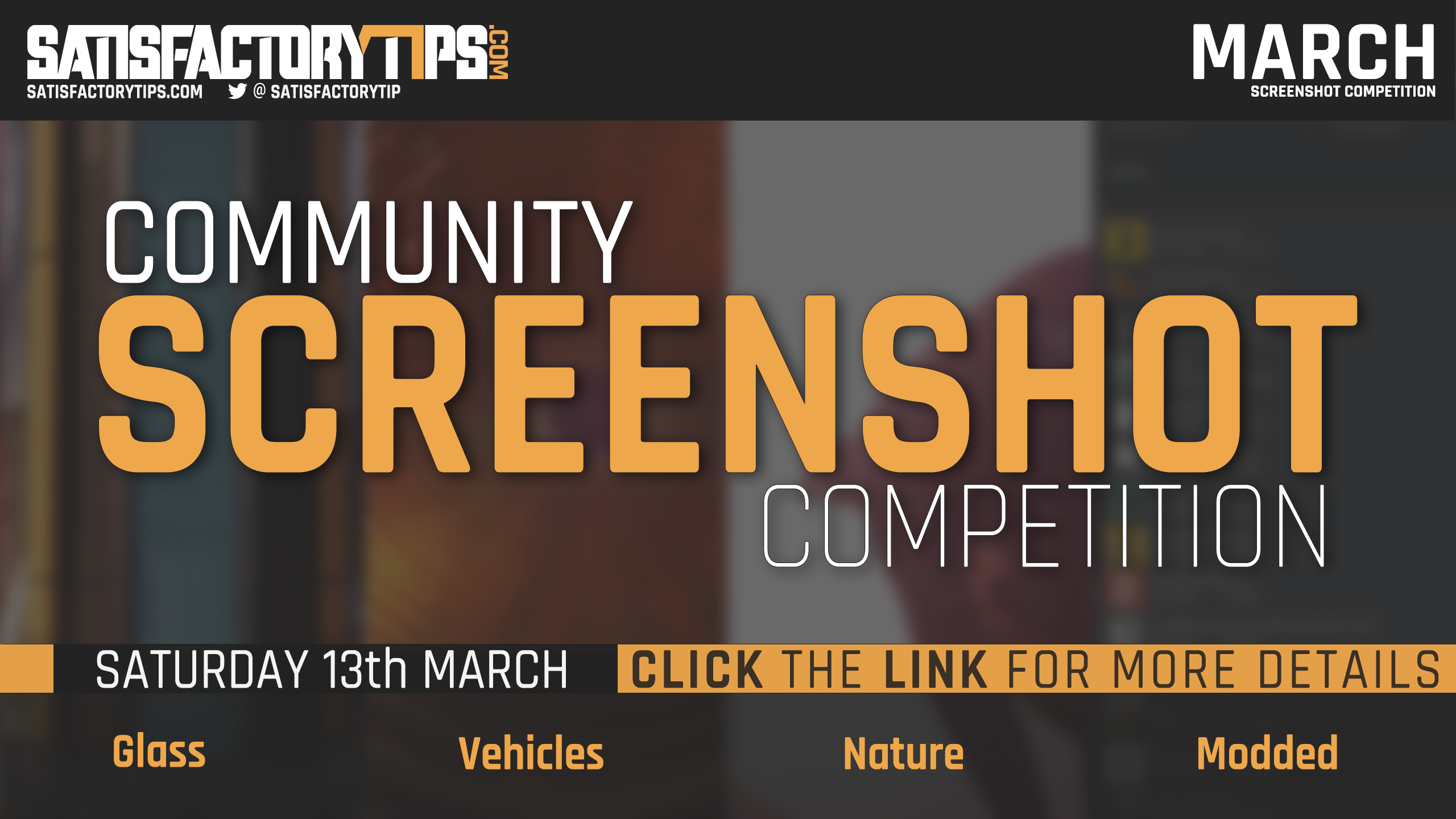 March Community Screenshot Competition 2021